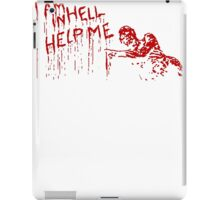 i am in hell iPad Case/Skin