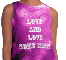 Love And Love Some More by Nikki Ellina Contrast Tank