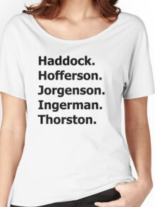 How to Train Your Dragon Names  Women's Relaxed Fit T-Shirt