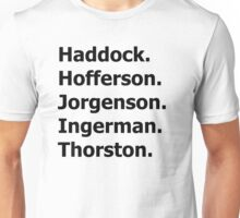 How to Train Your Dragon Names  Unisex T-Shirt