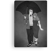 In the Rain Canvas Print