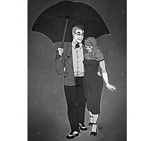 In the Rain Photographic Print