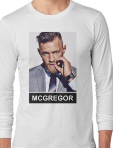 Conor McGregor - Notorious Long Sleeve T-Shirt