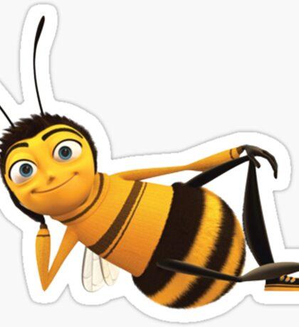 barry b benson - bee movie Sticker