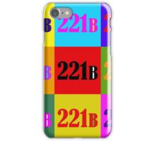 221 B ColorBlock iPhone Case/Skin
