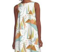 Flying geese A-Line Dress
