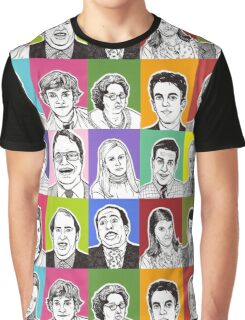 The Office Cast Graphic T-Shirt