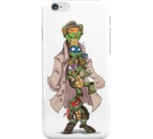 Turtles in a Trenchcoat iPhone Case/Skin