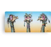 The Rainbow Tribe Canvas Print