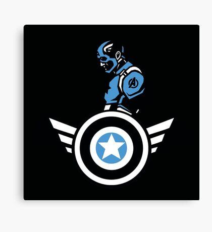 Marvels: Captain America  Canvas Print