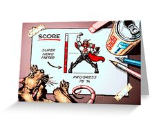 comix zone Greeting Card