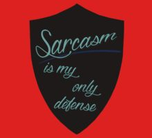 Sarcasm Is My Only Defense One Piece - Short Sleeve
