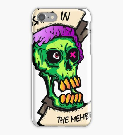 Insane Zombie iPhone Case/Skin