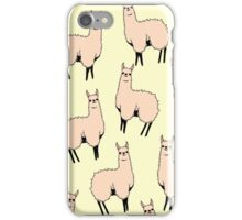 Lamas glamas iPhone Case/Skin