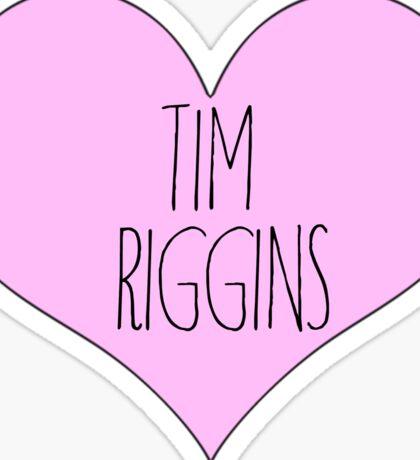 tim riggins friday night lights sticker  Sticker