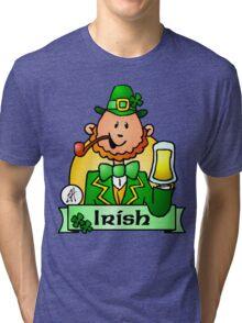 St. Patricks Day Tri-blend T-Shirt