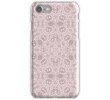 Elegant design with abstract ornament iPhone Case/Skin