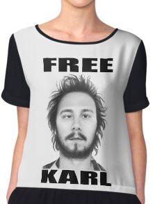 workaholics free karl show shirt Chiffon Top