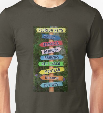 Tropical Destinations Unisex T-Shirt