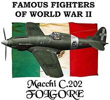 Famous Fighters - C.202 Folgore by Mil Merchant