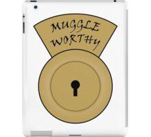 Muggle worthy iPad Case/Skin