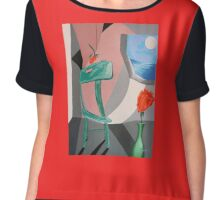 ROOM WITH A VIEW  Chiffon Top