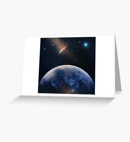 Planet Earth.  Greeting Card