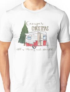 Camper Christmas Unisex T-Shirt