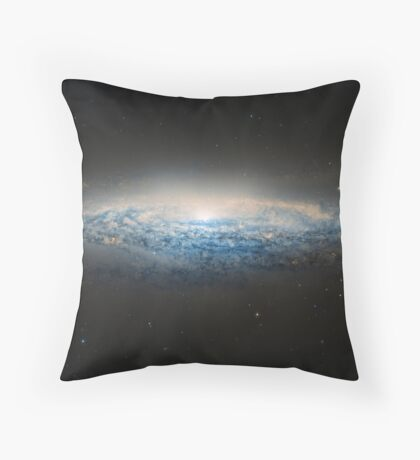 Universe filled with stars, nebula and galaxy Throw Pillow