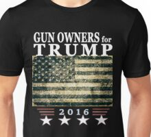 Gun Owners for President Elect Trump Unisex T-Shirt