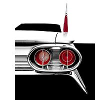 1961 Cadillac Tail Fin - Detail High Contrast Photographic Print