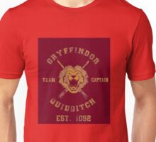 Gryffindor Quidditch - Team Captain Unisex T-Shirt