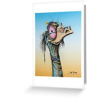 Happy Hippy Greeting Card