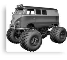 Volkswagen Bus Monster Truck VW Canvas Print