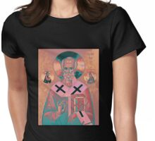 Saint Nicholas Icon Womens Fitted T-Shirt