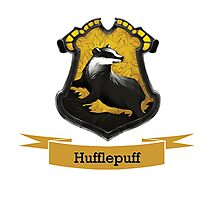 Hufflepuff Photographic Print