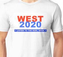 West for President Listen to The Kids Funny Parody Design Unisex T-Shirt