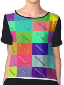 Colourful Bassoon Lover Chiffon Top