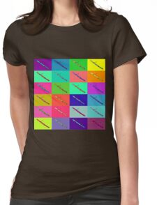 Colourful Bassoon Lover Womens Fitted T-Shirt