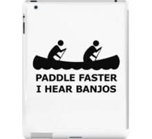 Funny T shirt cool t shirt funny shirt geeky tshirt canoe nerd t shirt tee shirt(also available on crewneck sweatshirts and hoodies) SM-5XL iPad Case/Skin