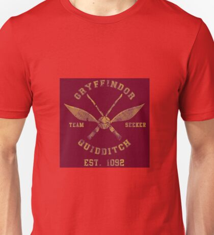 Gryffindor Quidditch - Team Seeker Unisex T-Shirt