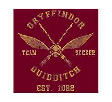 Gryffindor Quidditch - Team Seeker Photographic Print