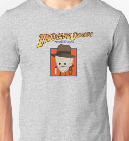 Indiana Scones & The Toaster of Doom Unisex T-Shirt