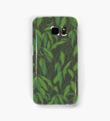 Jungle Leaves in Forest Samsung Galaxy Case/Skin
