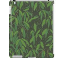 Jungle Leaves in Forest iPad Case/Skin