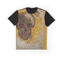 van gogh skull colour block 1 Graphic T-Shirt