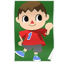 Friendly Villager is Friendly Poster
