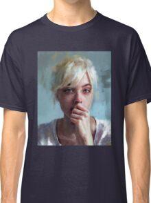 crying portrait Classic T-Shirt