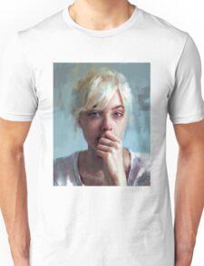 crying portrait Unisex T-Shirt