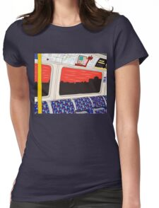 View from London Jubilee Line Womens Fitted T-Shirt